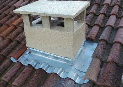 Refection abergement de cheminee en zinc 3